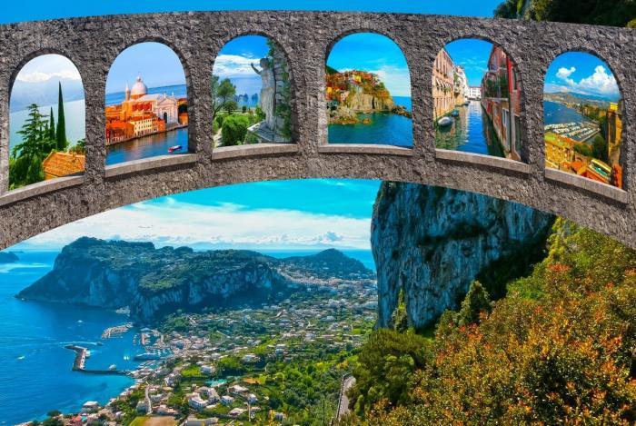 GALERIE FOTO. Insula Capri, o destinaţie perfectă de vacanţă pentru vara anului 2021