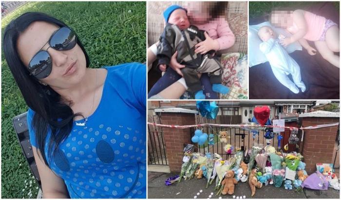 Raluca Tagani este acuzată că și-a înjunghiat copiii