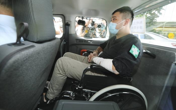 Este prima condamnare în baza legii securităţii, în Hong Kong