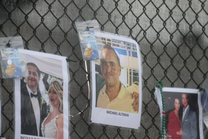 Moment cumplit pentru un pompier care şi-a scos pe braţe fiica moartă de sub dărâmăturile blocului prăbuşit din Miami