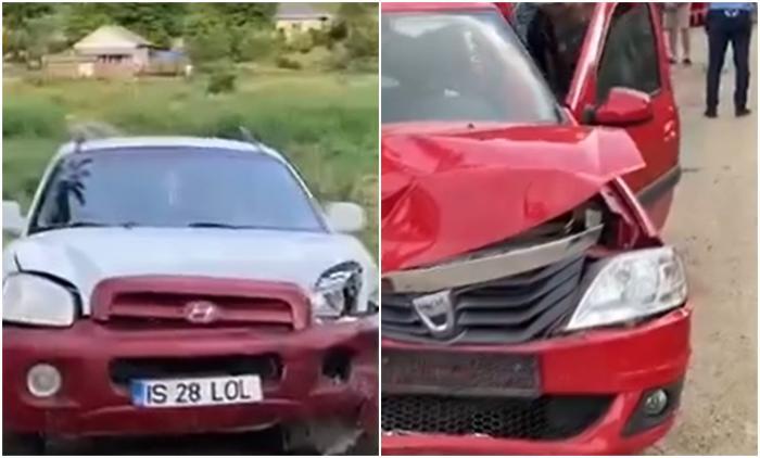 La un pas de tragedie, în Iași. Cinci copii au fost răniți în urma unui accident rutier. Unul dintre șoferi avea o alcoolemie de 0,35 mg/l alcool pur în aerul expirat