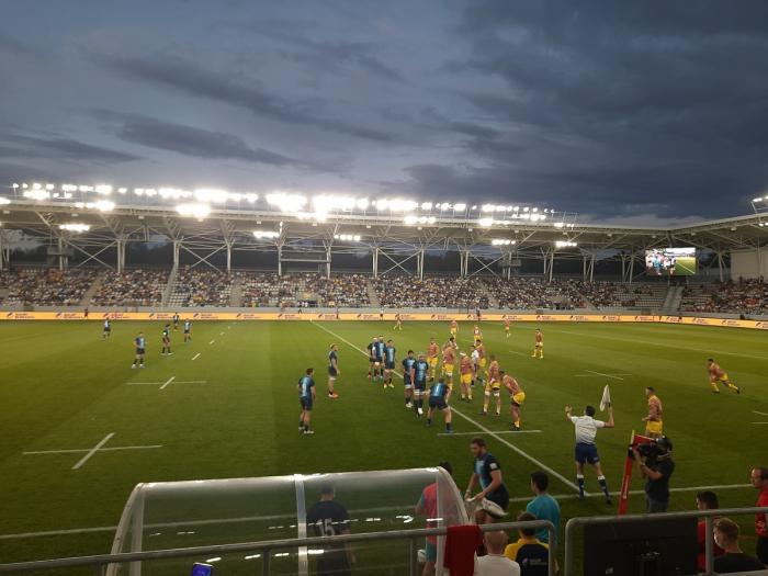 România s-a bătut în multe momente de la egal la egal cu o echipă mai puternică, Argentina, pe noul Stadion Arcul de Triumf