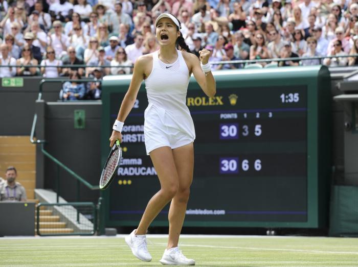Emma Raducanu, supriza momentului la Wimbledon
