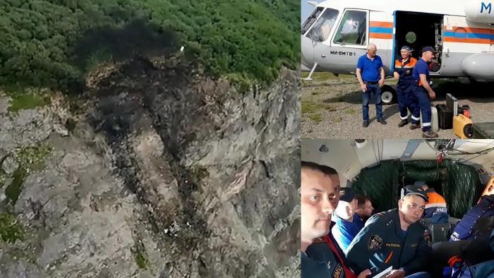 A fost găsită epava avionului din Rusia care s-a prăbuşit cu 28 de pasageri la bord. Aeronava s-a izbit de un munte
