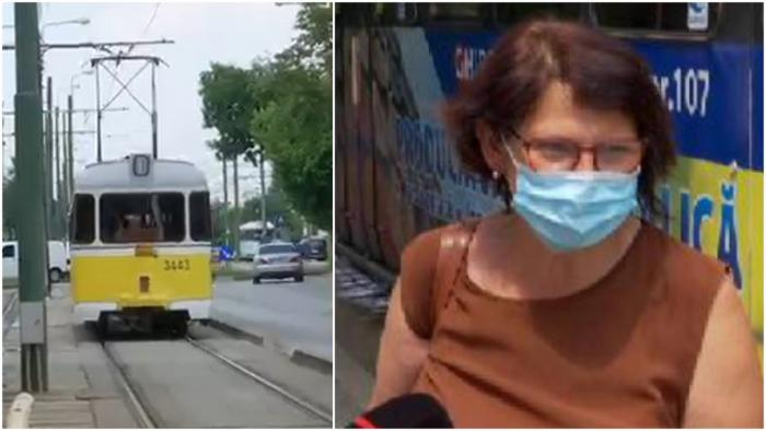 """La Timişoara, şinele sunt udate pentru ca tramvaiele să nu deraieze: """"M-am gândit că spală mizeria, totuşi"""""""