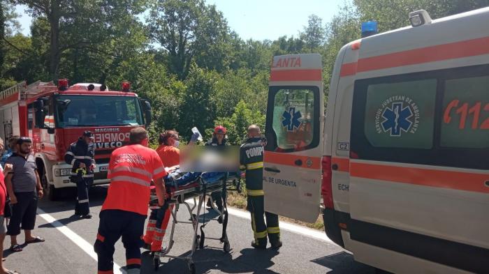 Accident Reșița