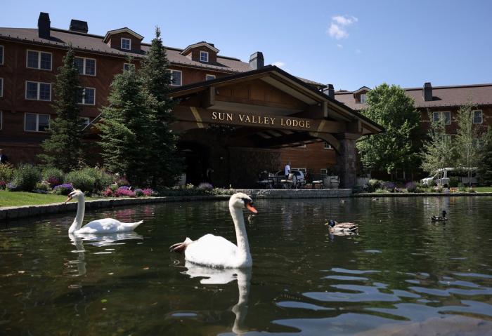 Tabăra din Sun Valley este organizată anual de compaia Allen & Co.