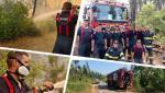 """Misiunile pompierilor români continuă în insula Evia, pentru a treia zi: """"La temperaturi caniculare, aceştia luptă cu focul în ture de câte şase ore"""""""