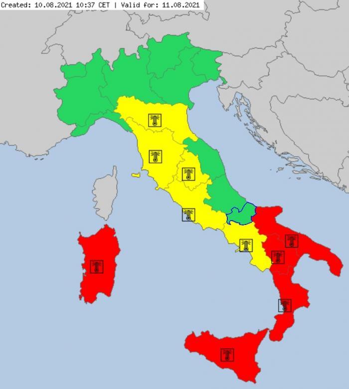 Val de caniculă în Mediterană, cu temperaturi de peste 42 de grade Celsius
