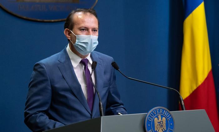 Florin Cîţu, premierul României