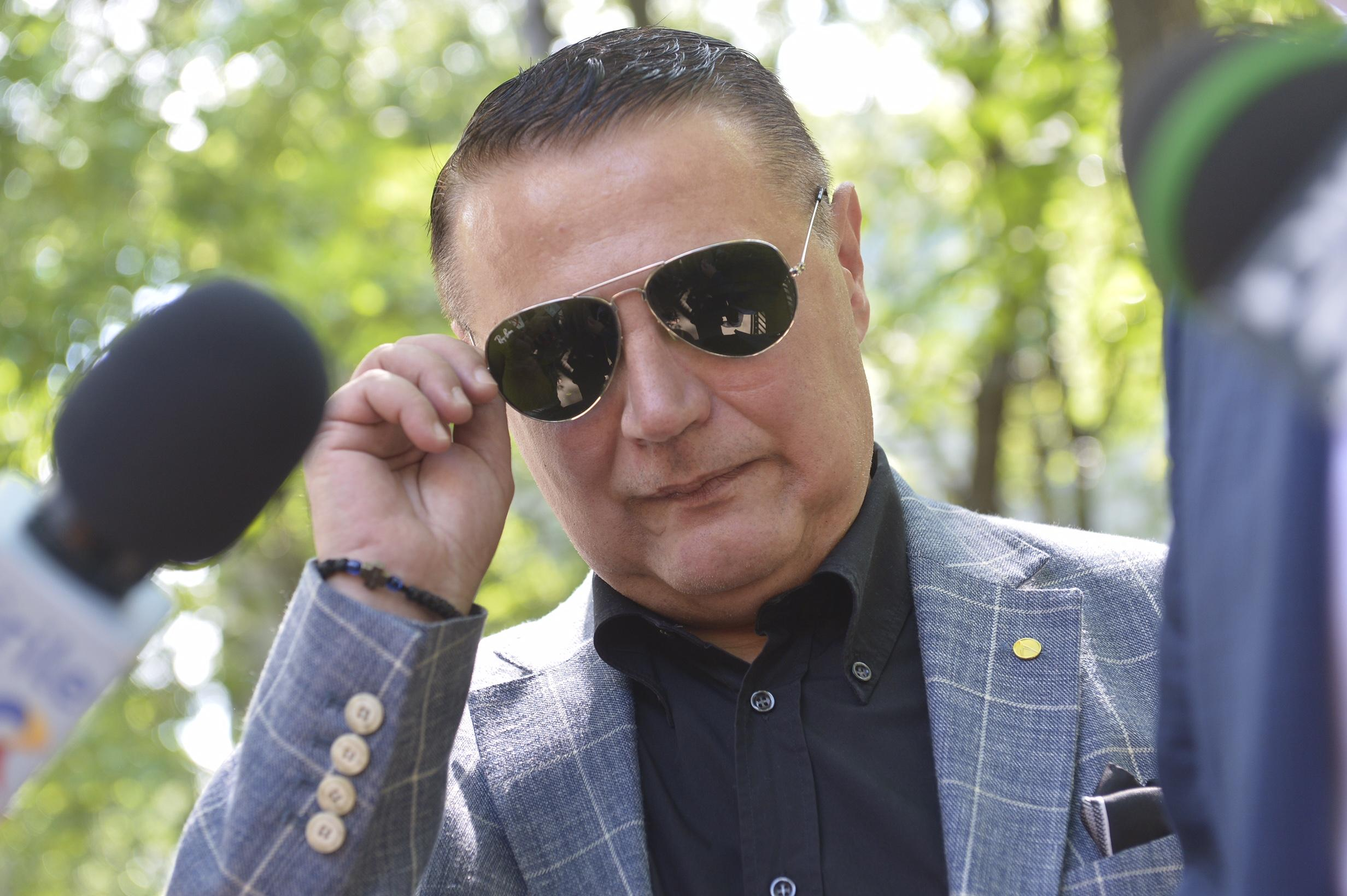 Fostul ministru al Transporturilor Ovidiu Silaghi, la sediul DNA, din Bucuresti, marti 20 iunie 2017