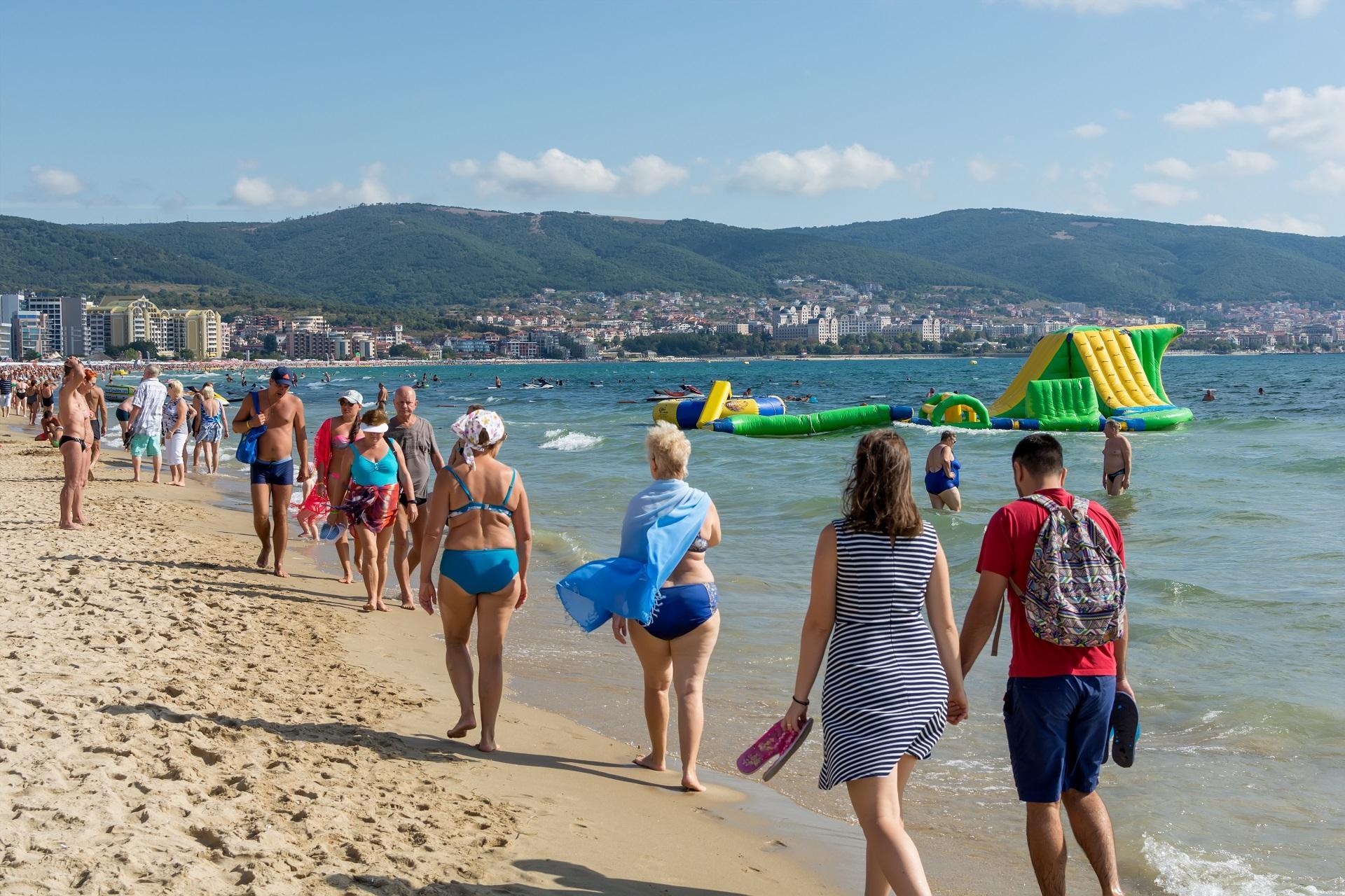 stațiunea Sunny Beach din Bulgaria