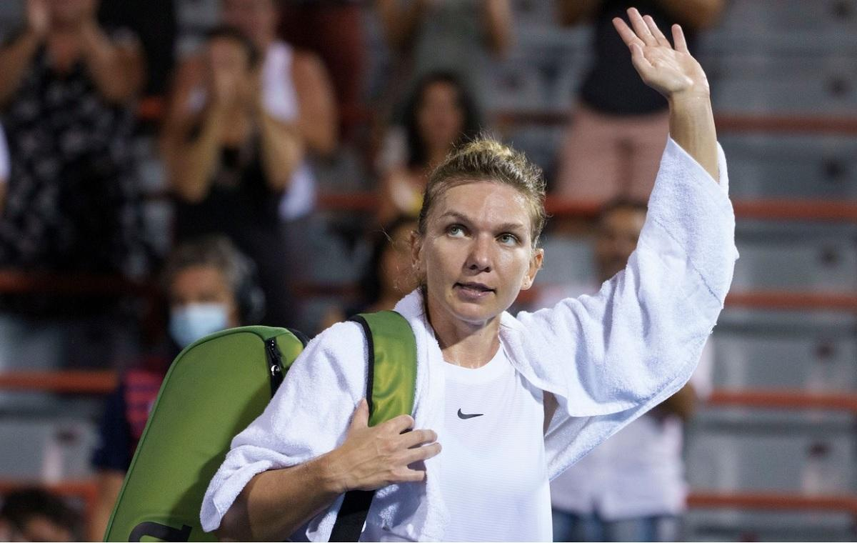 Simona Halep a fost eliminată în turul II al turneului de tenis de la Montreal