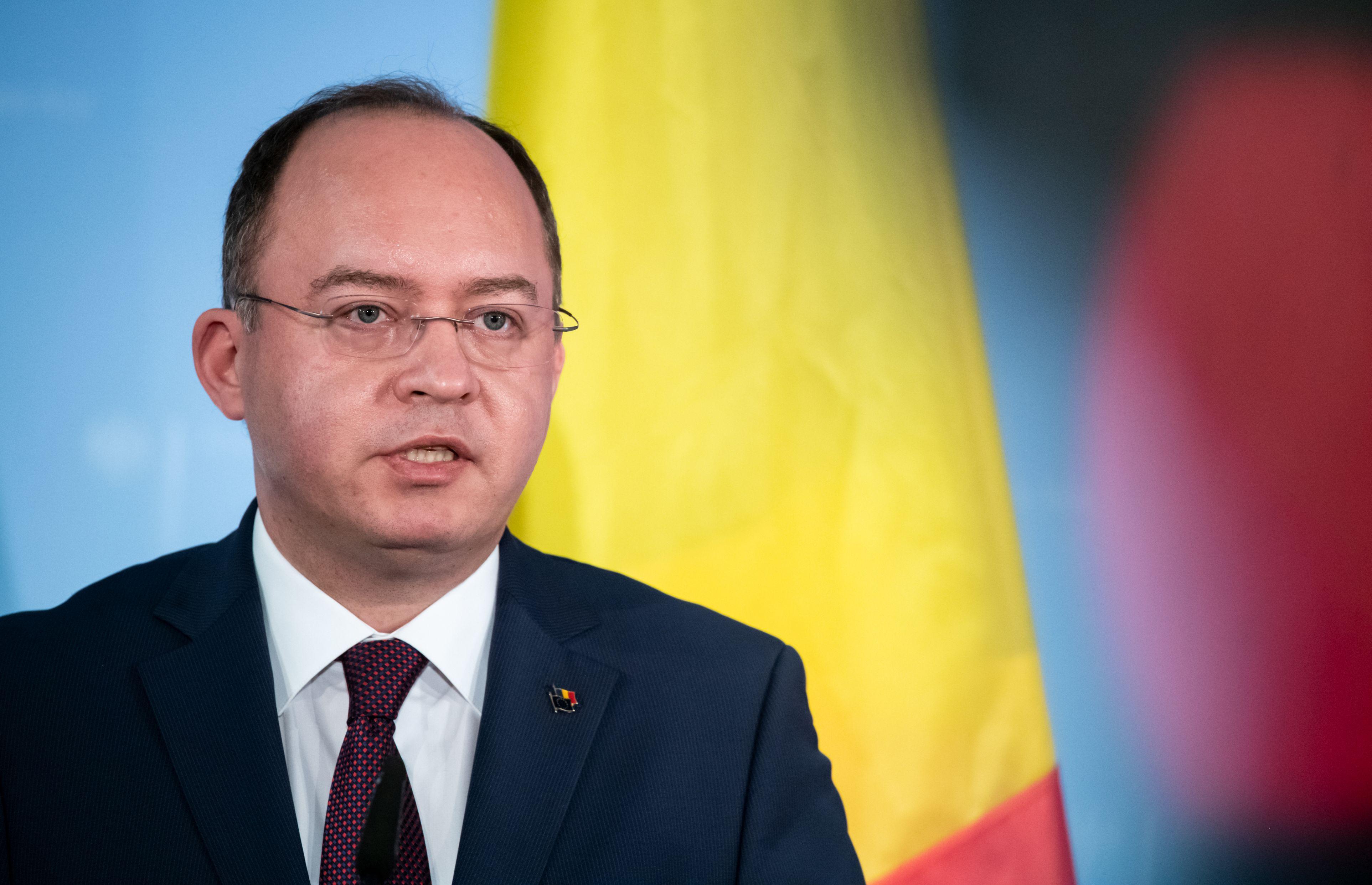Bogdan Aurescu, declarație de presă la Ministerul Afacerilor Exerne