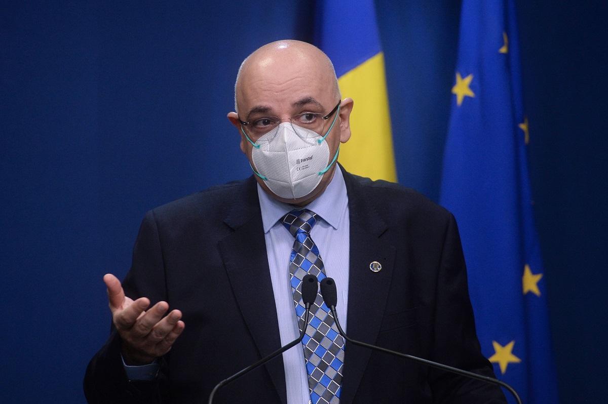 Şeful Departamentului pentru Situaţii de Urgenţă îi îndeamnă pe români să continue să se vaccineze împotriva Covid-19