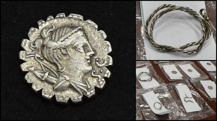 Un bărbat din Dolj a găsit o comoară de pe vremea romanilor, veche de 2.300 de ani, în timp ce săpa în curte
