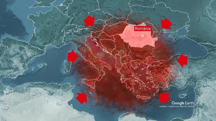 Val de căldură în România