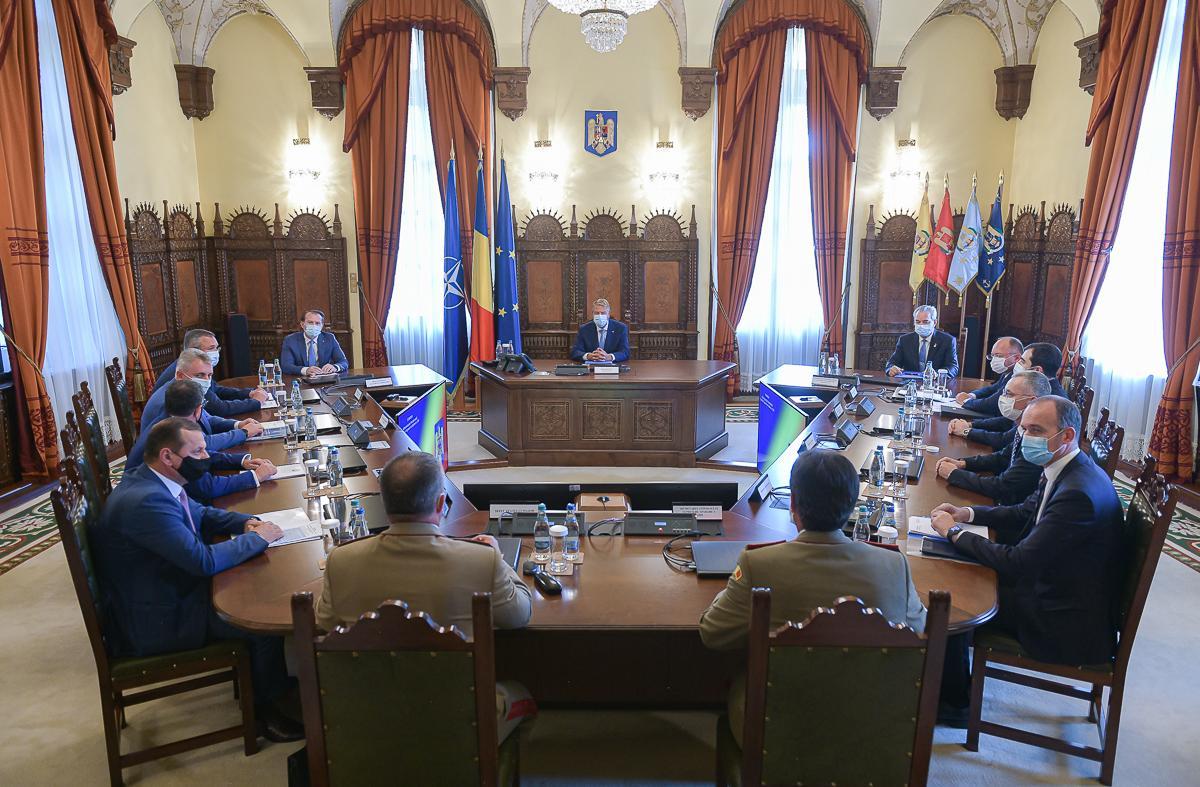 Şedinţa Consiliului Suprem de Apărare a Ţării din 25 august 2021