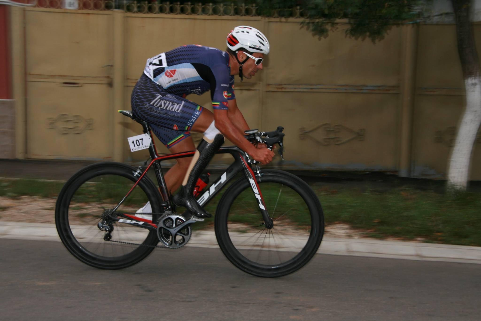 Eduard Novak, ministrul Sportului, a ocupat locul al 11-lea în proba de contratimp 1.000 de metri