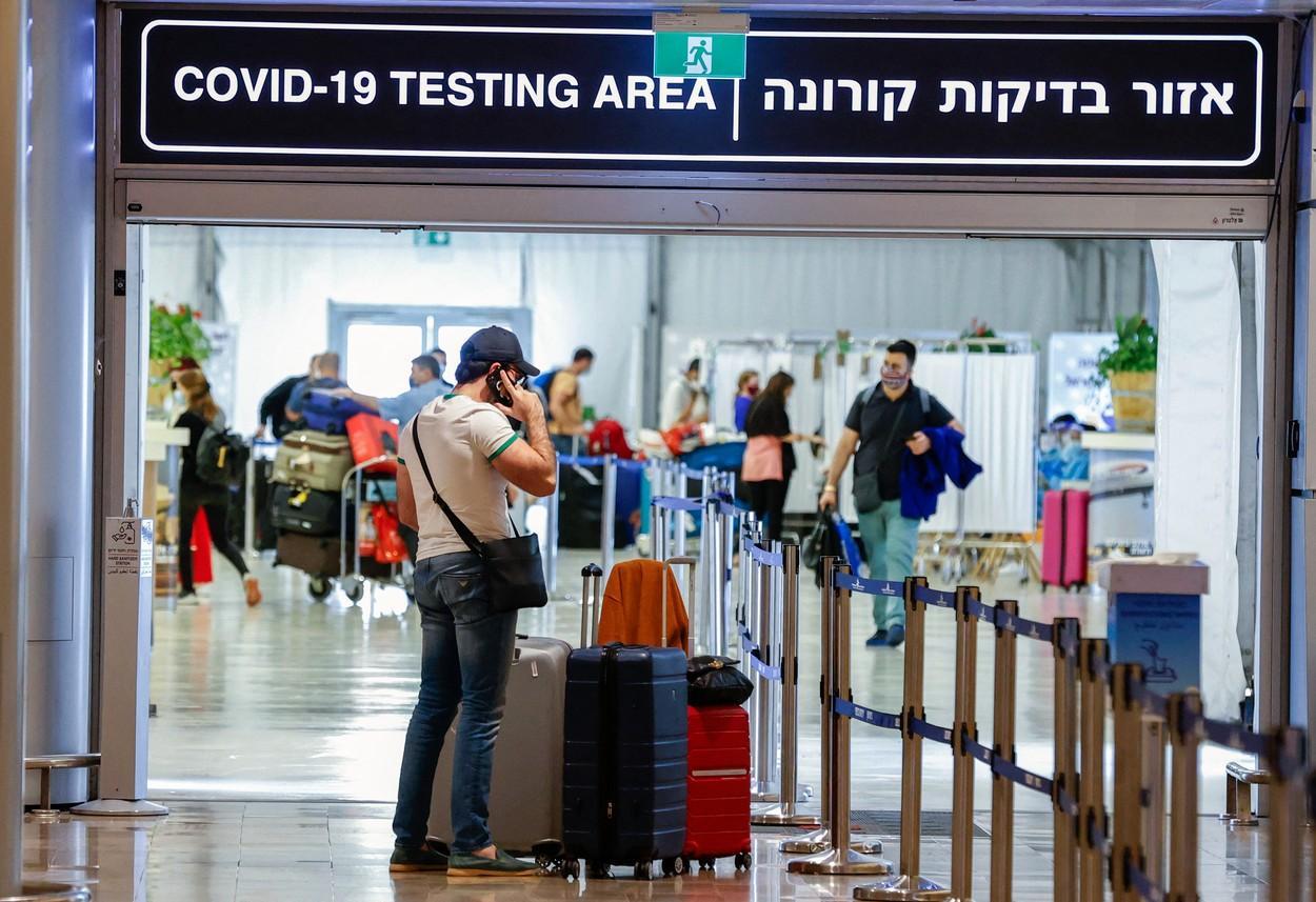 Israel a raportat peste 10.000 de cazuri noi de Covid-19 într-o singură zi, pentru prima dată din ianuarie