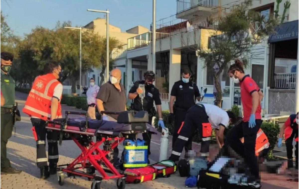 Turistul a ajuns în stare gravă la un spital din Palma de Mallorca