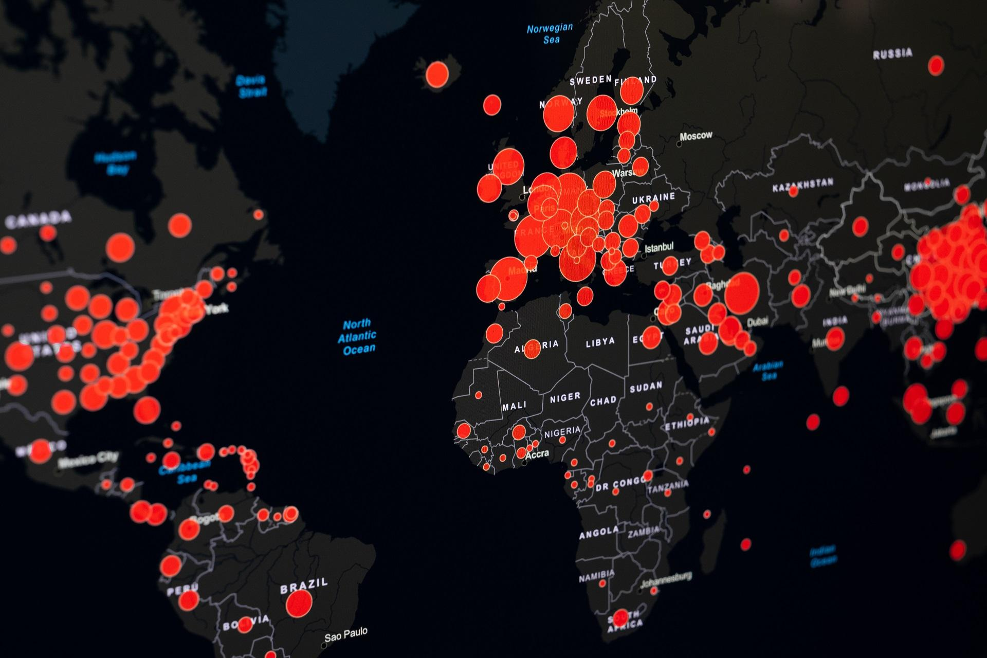 Lista statelor cu risc epidemiologic