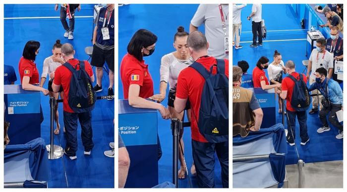 Larisa Iordache s-a retras din finala olimpică de la bârnă