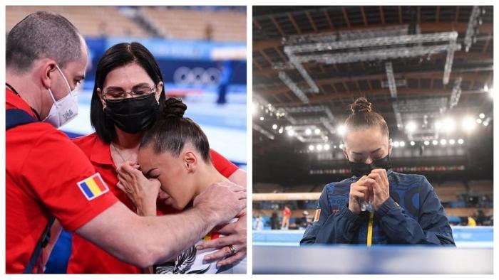 Larisa Iordache s-a retras din finala olimpică de la bârnă din cauza unei accidentări la gleznă