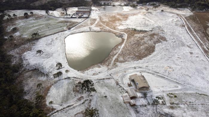 Prima zăpadă în Brazilia din ultimele şase deceniia
