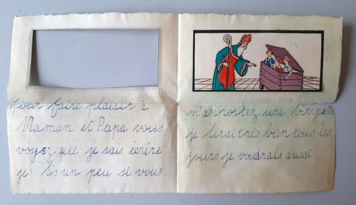 Scrisoarea a fost descoperită după mai bine de 80 de ani