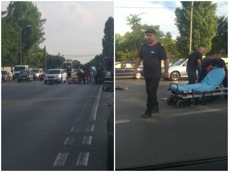 Un bărbat care circula pe o trotinetă a murit la spital după ce a fost şicanat de un motociclist