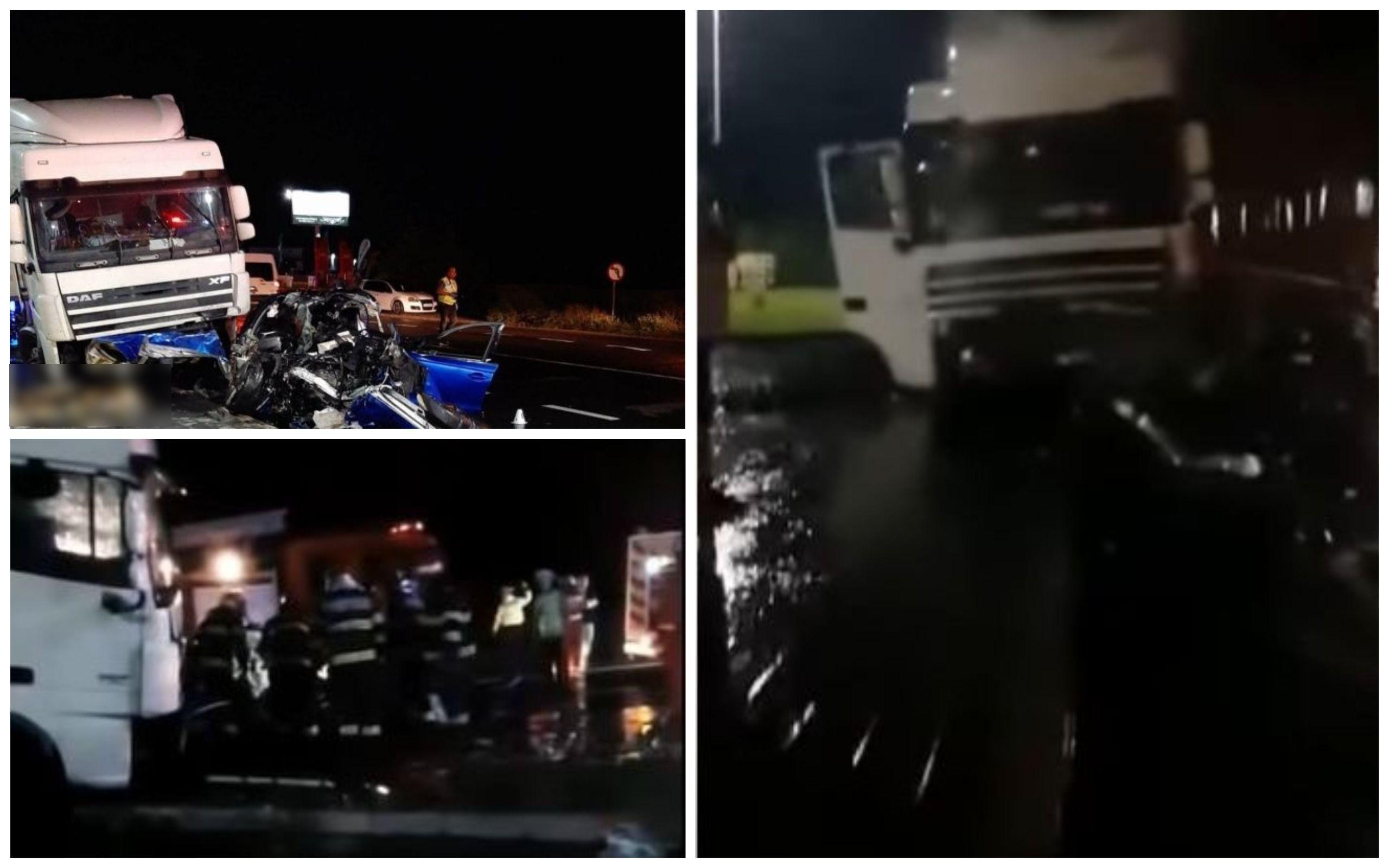 Imagini filmate la scurt timp după accidentul mortal din Focșani