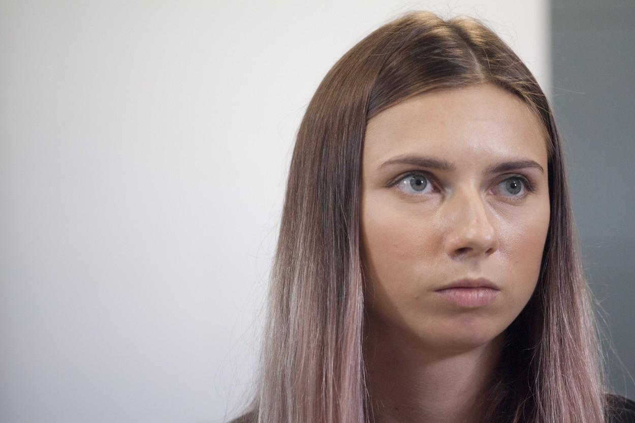 Krystsina Tsimanouskaya a primit viză umanitară în Polonia