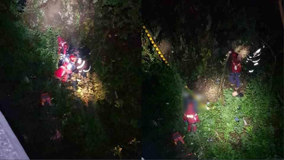 Motociclist din Cisnădie, mort după ce a căzut într-o râpă, pe Transalpina. Bărbatul avea 31 de ani