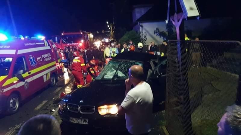 Accident mortal în Borșa, o fată de 14 ani a murit