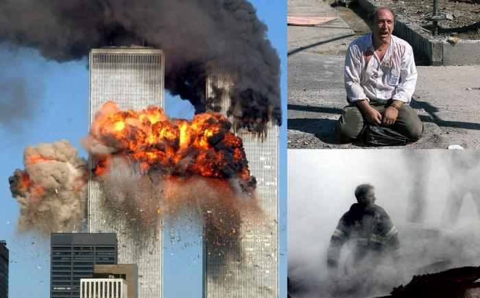 Imagini de la 11 septembrie 2001