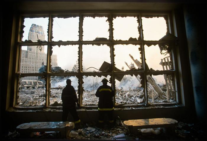 Imagini surprinse în ziua de 11 septembrie 2001