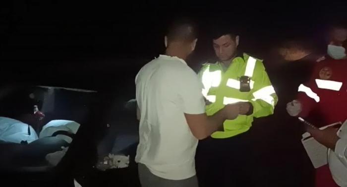 """Șofer beat criță, prăpăd pe o șosea din Teleorman. Tânărul nu știa cum a ajuns acolo:""""M-am trezit că m-am buşit dintr-o dată"""""""