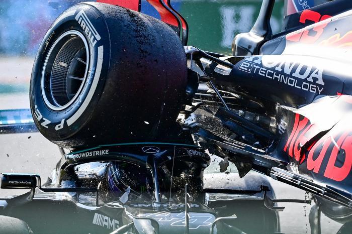 accident Formula 1