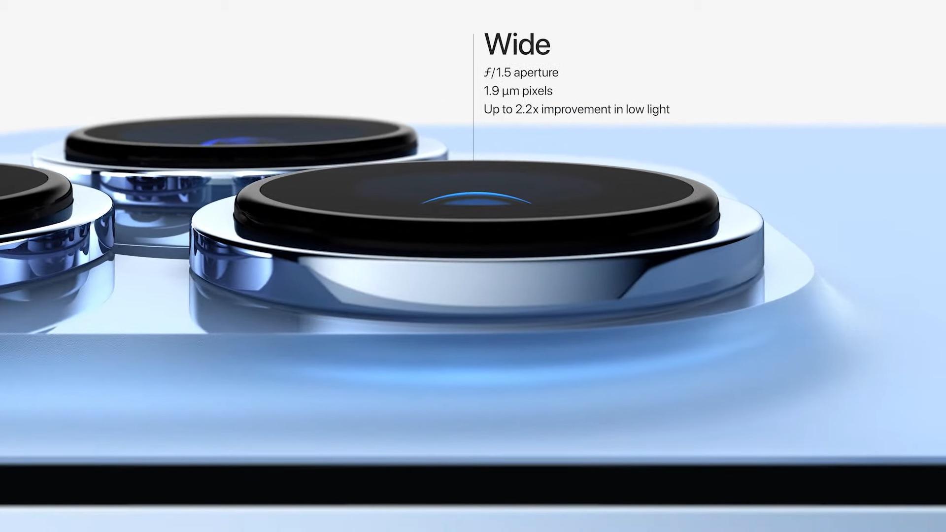 Camera wide de la iPhone 13 PRO