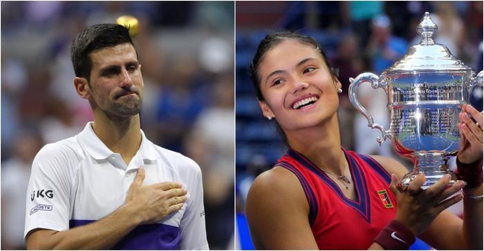 Novak Djokovic a felicitat-o pe Emma Răducanu