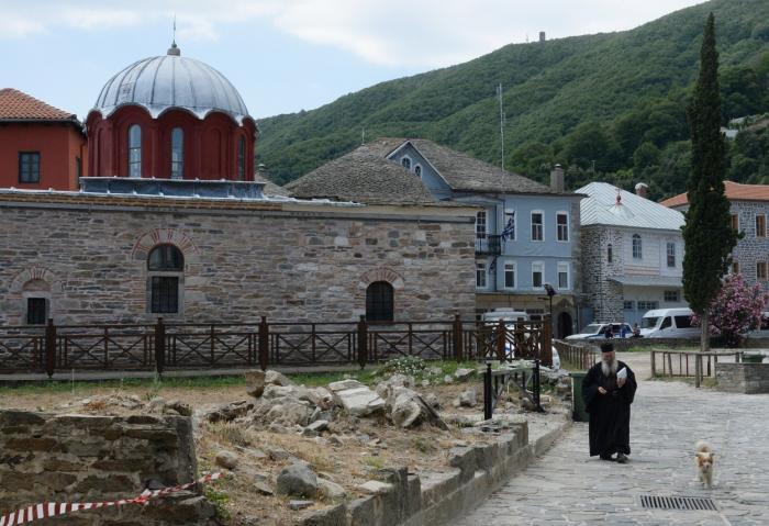 Kareya, capitala Statului Monahal Autonom de pe Muntele Athos