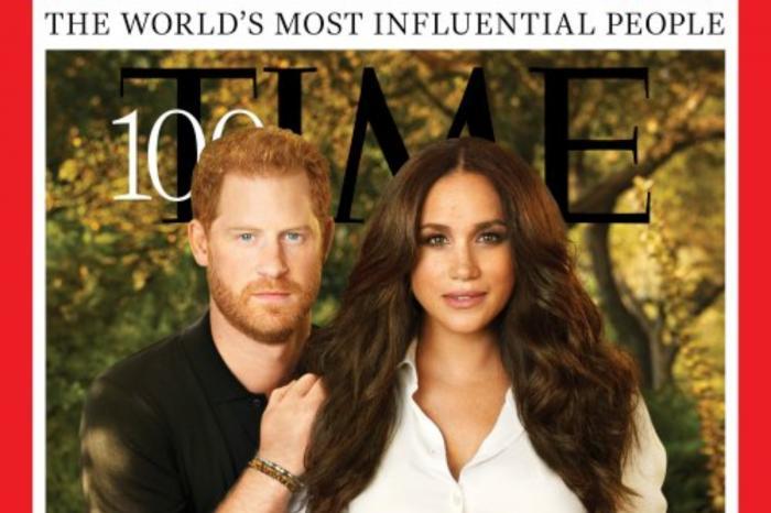 """Ducii de Sussex, pe coperta """"Time"""""""