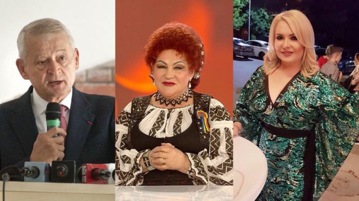 Elena Merişoreanu, Viorica de la Clejani şi Sorin Oprescu au fost infectati cu covid