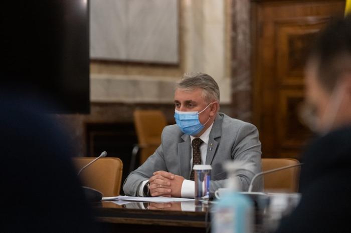 Lucian Bode, ministrul Afacerilor Interne şi ministru interimar al Justiţiei