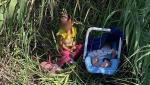 """O fetiță de 2 ani şi fratele ei de 3 luni au fost abandonaţi de traficanții de migranți pe malul unui râu din Texas: """"Este sfâșietor și frustrant; un act de disperare"""""""
