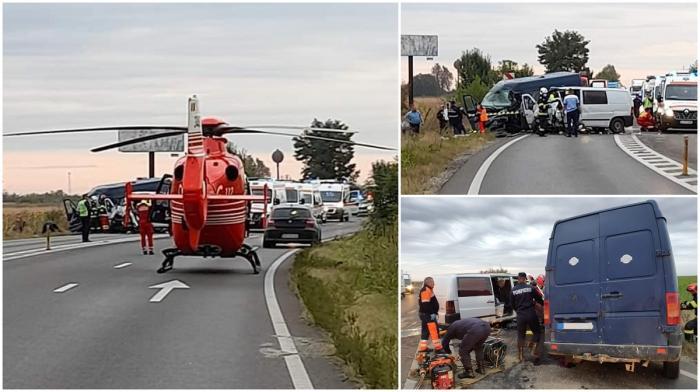Accident cu patru morți pe un drum din Ialomița. Imagini dramatice între Movilița și Sinești