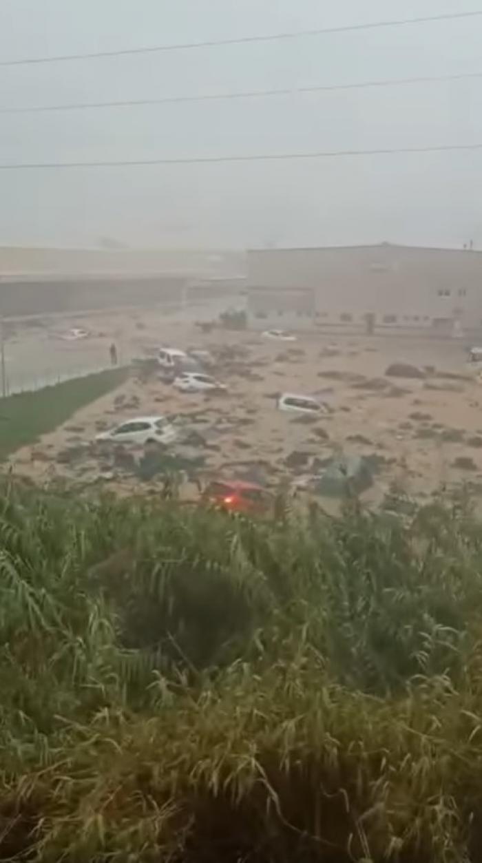 Imaginile dezastrului în provincia Huelva din Spania. Ploile torențiale au făcut prăpăd în Isla Cristina, Ayamonte și Lepe