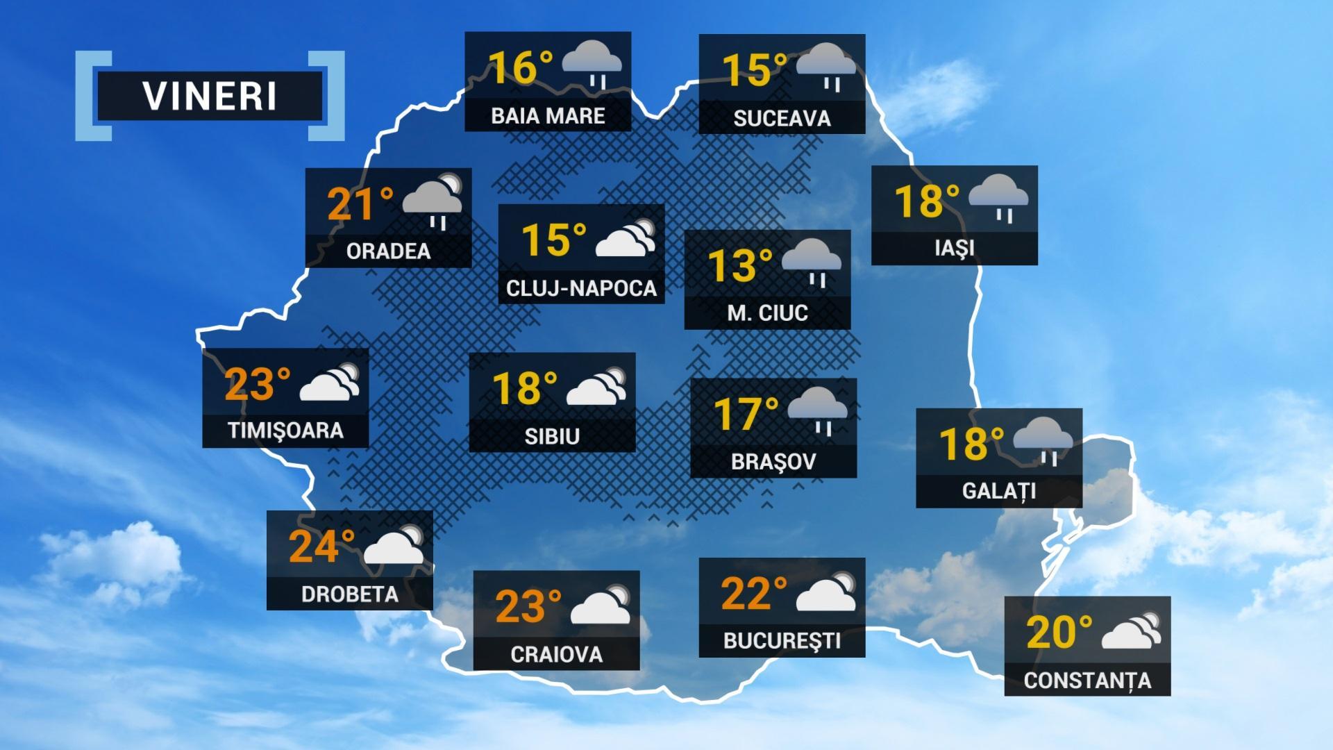 vremea 24 septembrie