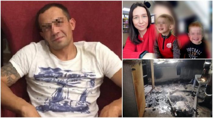 O mamă și fiii ei gemeni, uciși și incendiați de iubitul femeii. Îl cunoscuse pe criminal cu doar o lună în urmă, la o spălătorie auto, în Rusia